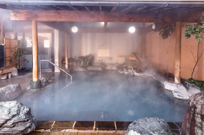 もちろん露天風呂もあり!